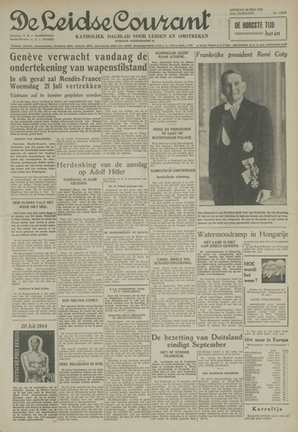 Leidse Courant 1954-07-20