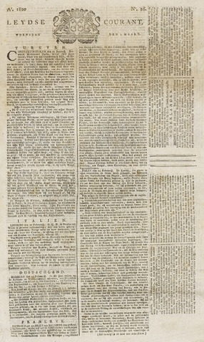 Leydse Courant 1820-03-01