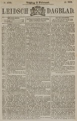 Leidsch Dagblad 1882-02-03