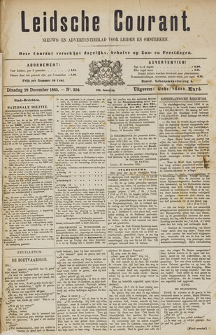 Leydse Courant 1885-12-29