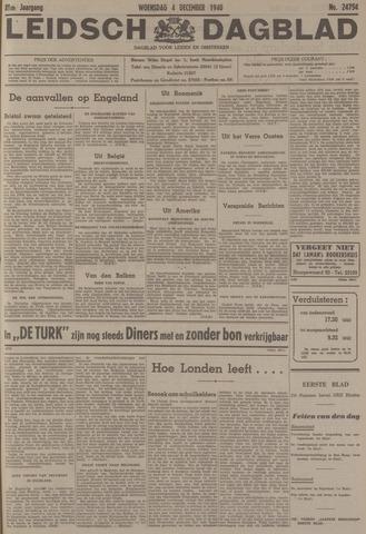 Leidsch Dagblad 1940-12-04