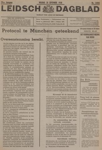 Leidsch Dagblad 1938-09-30