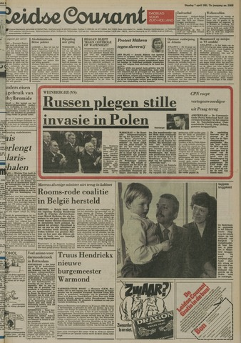 Leidse Courant 1981-04-07