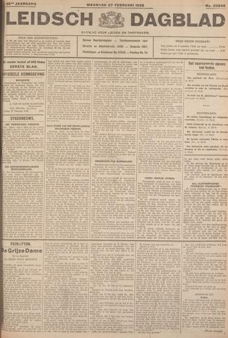 Leidsch Dagblad 1928-02-27