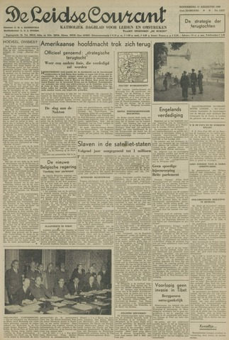 Leidse Courant 1950-08-17
