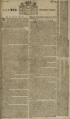 Leydse Courant 1765-11-11