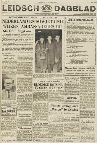 Leidsch Dagblad 1961-10-14