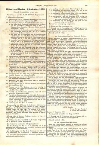 Handelingen van de Raad 1906-09-04