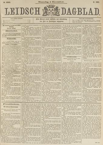 Leidsch Dagblad 1893-12-04