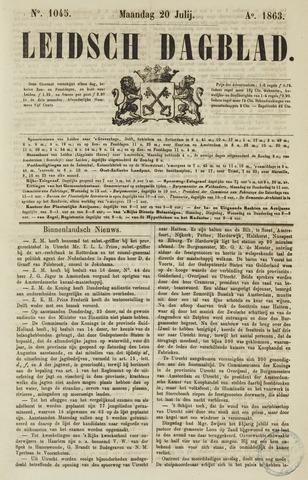 Leidsch Dagblad 1863-07-20