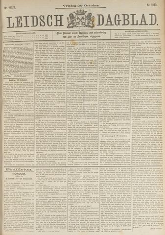 Leidsch Dagblad 1893-10-20