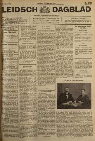 Leidsch Dagblad 1932-01-19