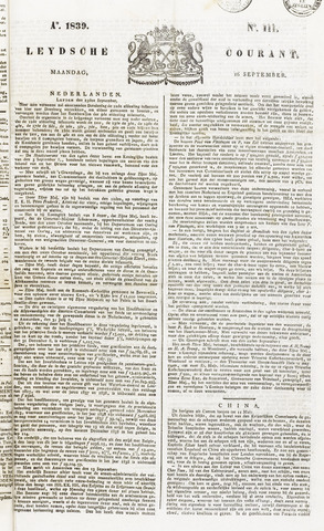 Leydse Courant 1839-09-16