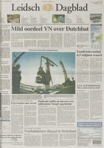 Leidsch Dagblad 1999-11-16