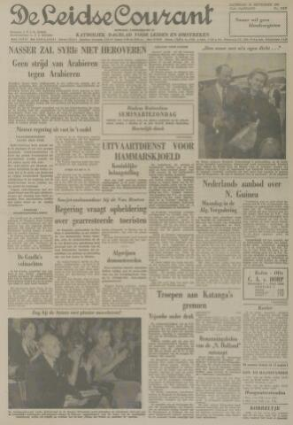 Leidse Courant 1961-09-30