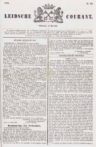 Leydse Courant 1876-03-17