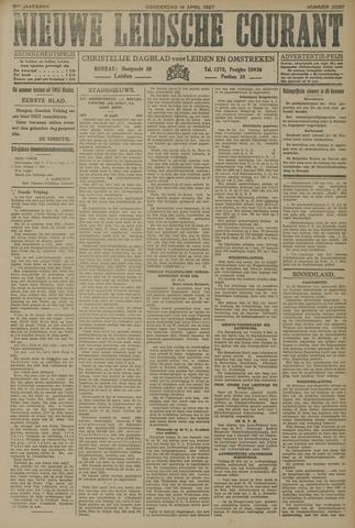 Nieuwe Leidsche Courant 1927-04-14