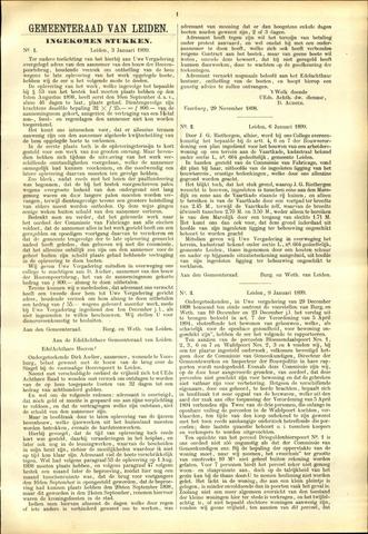 Handelingen van de Raad 1899-01-03