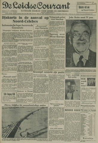 Leidse Courant 1958-02-27