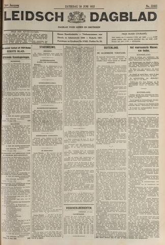 Leidsch Dagblad 1933-06-10