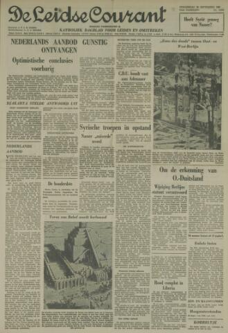Leidse Courant 1961-09-28