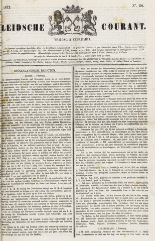 Leydse Courant 1872-02-02