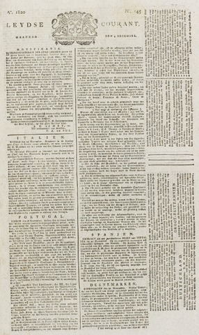 Leydse Courant 1820-12-04