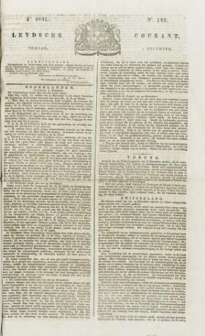 Leydse Courant 1841-12-03