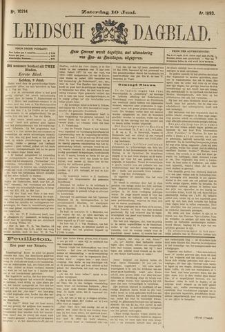 Leidsch Dagblad 1893-06-10