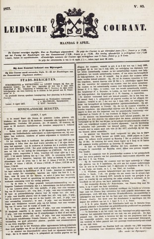 Leydse Courant 1877-04-09
