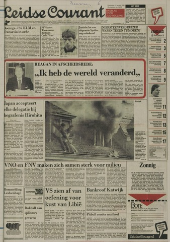Leidse Courant 1989-01-12