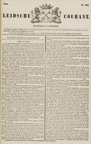 Leydse Courant 1884-12-11
