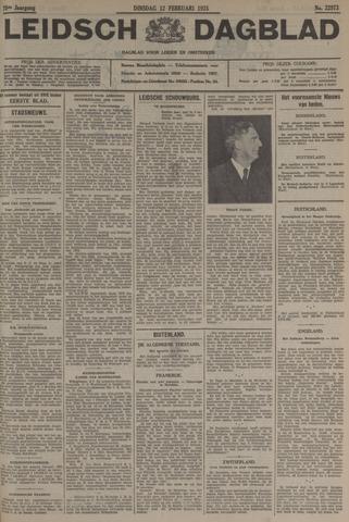 Leidsch Dagblad 1935-02-12
