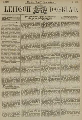 Leidsch Dagblad 1890-08-07