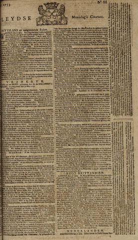 Leydse Courant 1753-07-23