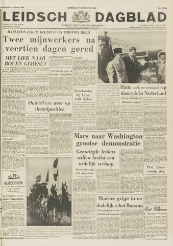 Leidsch Dagblad 1963-08-27