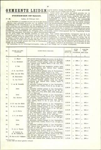 Handelingen van de Raad 1947-02-22