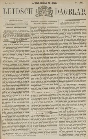 Leidsch Dagblad 1885-07-09
