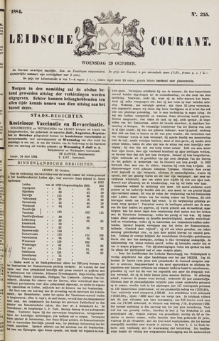Leydse Courant 1884-10-29