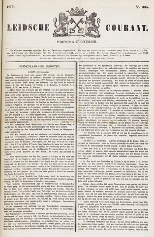 Leydse Courant 1876-12-27
