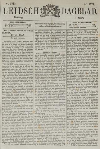 Leidsch Dagblad 1878-03-11