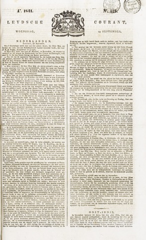 Leydse Courant 1841-09-29