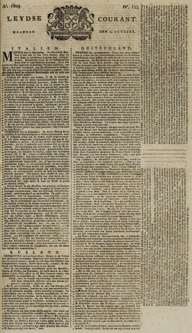 Leydse Courant 1805-10-14