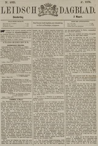 Leidsch Dagblad 1876-03-02