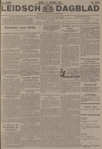 Leidsch Dagblad 1940-11-22