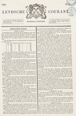 Leydse Courant 1855-01-08