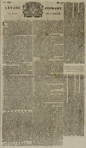 Leydse Courant 1803-08-15
