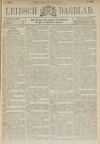 Leidsch Dagblad 1893-01-14