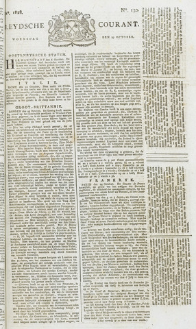Leydse Courant 1828-10-29