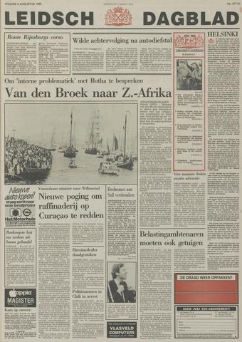 Leidsch Dagblad 1985-08-02